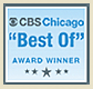 Classic Wedding Car Award from CBS Chicago