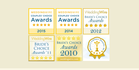 Wedding Wire Brides Choice Award, Classic Wedding Car 2012, 2011, 2010, 2009