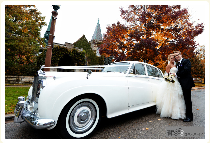 Rolls Royce Classic Wedding Car Vintage Car Rental Chicago