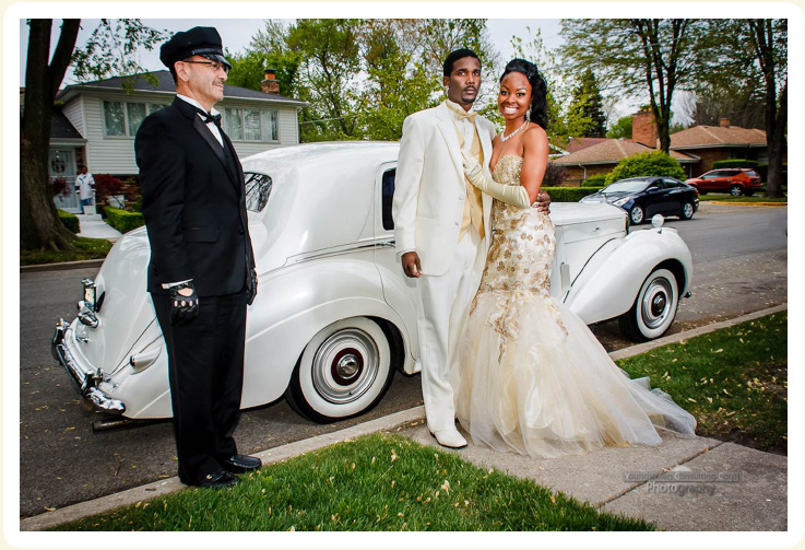 1954 Bentley luxury prom rental vehicle with chauffeur