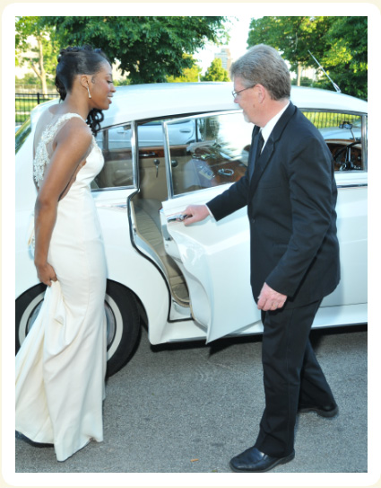 Prom Photo Gallery Of Chauffeur Opening Door Of Rolls