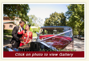 Elaine and Anup wedding gallery with rental 1948 Rolls Royce