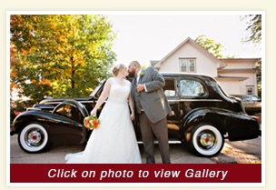 thumbnail for Kim and Chano wedding in 1939 Packard Limousine antique rental vehicle