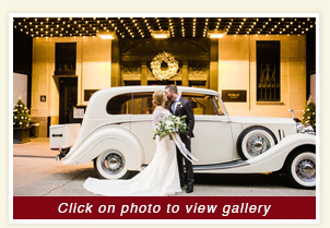 thumbnail photo, after the wedding rental cars, 1954 white Bentley luxury car