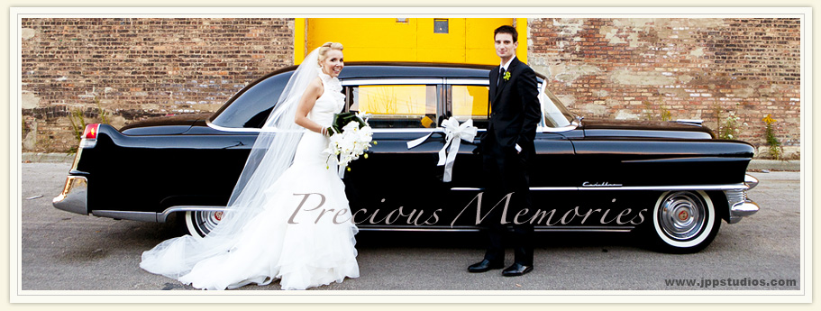 Wedding Transportation Reservations for vintage classic cars, Classic Wedding Car, Chicago.